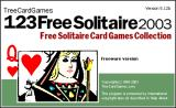 123 Free Solitaire Windows Splash screen (v5.12b)
