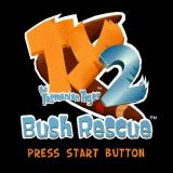 Ty the Tasmanian Tiger 2: Bush Rescue PlayStation 2 After the company logos and a short animated introduction the start/title screen is displayed