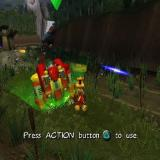 Ty the Tasmanian Tiger 2: Bush Rescue PlayStation 2 Enough of fighting these things by hand, now it's time to use a Battle Bunyip!<br>Other mechanised Bunyips are available<br>Areas that are of interest are illuminated in bright green
