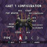 Ty the Tasmanian Tiger 2: Bush Rescue PlayStation 2 In addition to the main game there's also a Cart Racing option.<br>This is the controller configuration screen