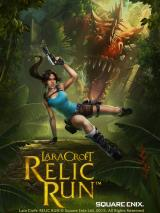 Lara Croft: Relic Run iPad Title screen