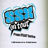 SSX on Tour PlayStation 2 The game's start/title screen
