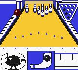 Pocket Bowling Game Boy Color Training mode.
