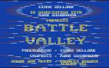 Battle Valley Commodore 64 Title screen