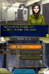 Jake Hunter: Detective Story - Memories of the Past Nintendo DS Jake's assistant makes an observation