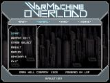 WarMachine Overload Windows Title screen (EVOLUTION1 version)