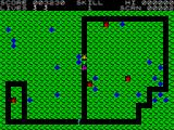 Magic Meanies ZX Spectrum Screen 2: Meanies and frog (indestructible)