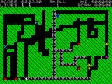 Magic Meanies ZX Spectrum Screen 6: Completely blocked by the centipede.