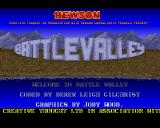 Battle Valley Amiga Title screen