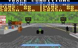 Shirley Muldowney's Top Fuel Challenge Commodore 64 View the track conditions