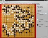 Kigo Linux Loaded the board situation of a historical game