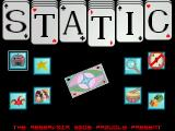 Static Atari ST Title screen and main menu (Falcon, VGA)