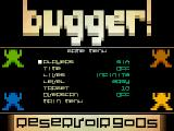 Bugger! Atari ST Setting the game mode: time, lives and the speed of the frogs