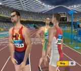 Athens 2004 PlayStation 2 Competing in the games at men's 400m<br>After the race the athletes wind down looking at the scoreboard and waiting for the results. There's even a race replay