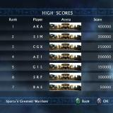 Spartan: Total Warrior PlayStation 2 The high score table of the Arena Challenge is pre-populated, you've got to be really good to take the number one spot