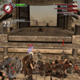 Spartan: Total Warrior PlayStation 2 Lots of dead Romans but they keep on coming. Carnage leads to a kind of battle rage. When the sword glows special rage moves become available