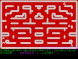 Gobbleman ZX Spectrum Level completed.