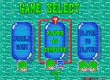 Bust-A-Move Again Arcade Game mode select (Taito F3 system/Japanese version)