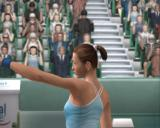 Smash Court Tennis Pro Tournament 2 PlayStation 2 Pro Tour mode: This is our player viewed in one of the post-rally replays