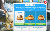 Ice Age: Village Android Growing a population through the nursery is an important part of the game.
