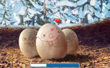 Ice Age: Village Android You need to 'rub' the eggs to hatch them.