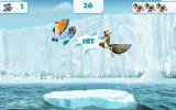 Ice Age: Village Android The scrat mini-game where you defeat the fish with swipes.