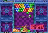 Bust-A-Move Arcade Attract mode in the US Neo Geo version