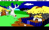 The Black Cauldron DOS The goat thinks you want to play tag