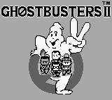 Ghostbusters II Game Boy TItle Screen