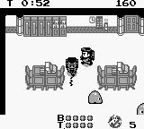 Ghostbusters II Game Boy Winston fires his proton pack and misses