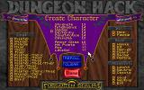 Dungeon Hack DOS The character creation system is pretty powerful for a dungeon crawl.