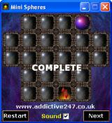 Mini Spheres Windows Level completed