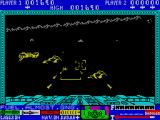 3D Lunattack ZX Spectrum What's happening here? Why is my vehicle lowering its screen?