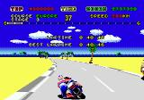 Super Hang-On Genesis Lap record showing
