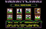 Heartland Atari ST Main menu: see high scores, chose Sissy or Sassy, load and save game
