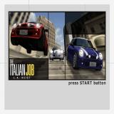 The Italian Job PlayStation 2 The game's title screen