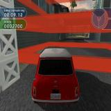 The Italian Job PlayStation 2 Mission One: The mission is to meet Charlie, the daughter of one of the original band in the Italian Job. The red bars indicate we've arrived