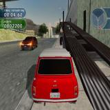 The Italian Job PlayStation 2 While driving around LA the player will see an unusual number of ramps and lorries to jump from