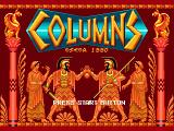 Columns Genesis Title Screen