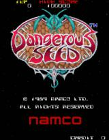 Dangerous Seed Arcade Title screen