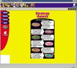 Galaxy of Games: Yellow Edition Windows The Strategy Games menu