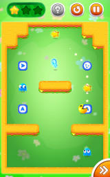 Pac-Man Bounce Android Grab the star and the key, avoid the ghost.