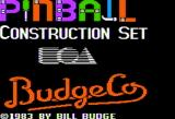 Pinball Construction Set Apple II Title screen (Electronic Arts release)
