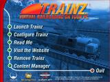 Ultimate Trainz Collection Windows The main menu
