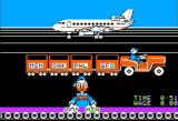 Donald Duck's Playground Apple II Sorting packages for McDuck Airlines
