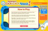Pachirisu's Click-Clack Attack! Browser Instructions.