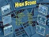 Rugrats: Mystery Adventures Windows The game's high score table.<br>This shows the cumulative high scores, clicking on the pictures shows the scores for the individual games