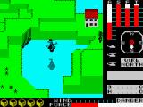 Cyclone ZX Spectrum Lagoon Island: many people saying goodbye and shouting something about a cyclo-something.