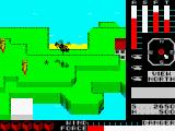 Cyclone ZX Spectrum Red island: rescuing the two last villagers.
