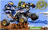 ATV Simulator Commodore 64 Title screen